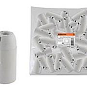 Патрон Е14 подвесной, термостойкий пластик, белый, Б/Н TDM фото