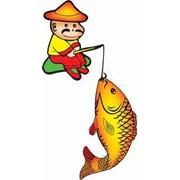 Активный отдых, рыбалка, отдых на водоеме, экологически чистый отдых. фото