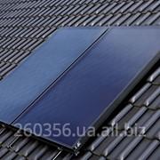 Плоский солнечный колектор фото
