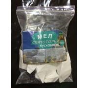 Мел Святогорья натуральный кусковой, пакет (500 г) фото