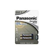 Батарейка щелочная Panasonic LR03 (AAA) Everyday Power (Standard) 1.5В бл/2 фото