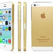 Золотой стикер для iphone 5 фото