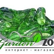 Грунт стеклянный №55 170г палочки зеленые фото