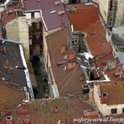 Покраска дахів фото