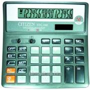 Калькулятор citizen sdc-660 фото