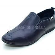 Туфли мужские CARLO DELARI чёрного цвета 046 фото