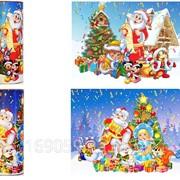 Новогодний подарочный тубус,мелкий и крупный опт фото