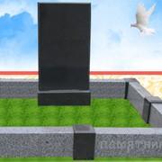 Установка памятников. фото