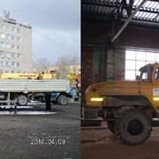 Аренда манипулятора стрела 7 т, борт 16 т Урал фото