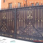 Художественная ковка, Кованые ворота фото