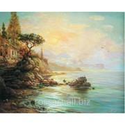 Картина на холсте Морcкой пейзаж krt40 фото