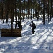 Организация и проведение пейнтбольных игр фото