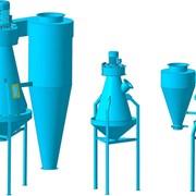 Воздушный сепаратор зерна, сепаратор пластика фото