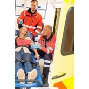 Перевозка лежачих больных с подъемом на любой этаж фото