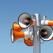 Монтаж и обслуживание систем оповещения фото