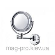 Зеркало косметическое с увеличением и подсветкой фото