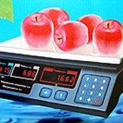 Электронные весы со счетчиком цены AT-209 (от 200г до 30кг) фото