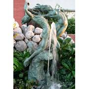 Скульптуры в саду фото