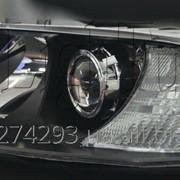 Установка биксеноновых линз в фары Skoda Octavia А5 фото