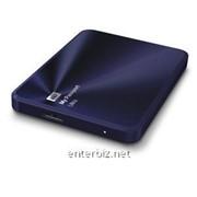 "Накопитель внешний HDD ext 2.5"" USB 3.0TB WD My Passport Ultra Metal Blue (WDBEZW0030BBA-EESN) фото"
