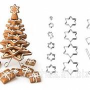 Каттеры для создания пряков 3Д Новогодняя елка, код 381 фото