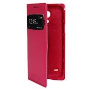 Чехол-книжка для Samsung Galaxy S4 mini. розовая фото