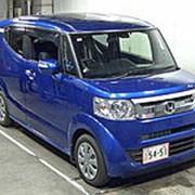 Хэтчбек турбо HONDA N BOX SLASH кузов JF1 модификация G Turbo A Package гв 2015 пробег 26 т.км синий фото