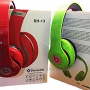 Bluetooth наушники Monster Beats By dr.dre Studio SH-13 с MP3 и FM фото