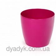 Кашпо Магнолия с подставкой 210*185мм, Розовый фото