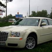 Прокат седанов Chrysler 300C с водителем на Ваш праздник фото