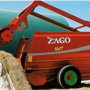 Кормосмеситель горизонтальный ZAGO KING, оборудование для измельчения кормов, соломорезки фото