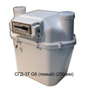 Счетчик газа диафрагменный с термокомпенсатором СГД-3Т G6 (левый) (250 мм) фото
