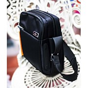 Сумка-планшет 23х12х28см черная фото