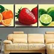 Картина по номерам Красочные фрукты фото