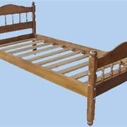 Кровати одинарные из массива сосны фото