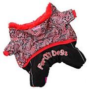 Комбинезон красный для девочек(8) фото