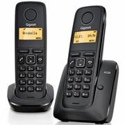 Телефон DECT Gigaset A120 DUO Black (L36852H2401S301) фото