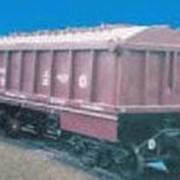 Вагон для апатита с поднимающимся кузовом модель 10-4022, Вагоны грузовые платформы фото
