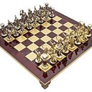 """Шахматы """"Античные войны"""" 28x28x1.8;H=5.4 см. арт.MP-S-15-28-R фото"""