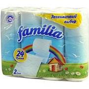 Туалетная бумага Familia Радуга белая Экономичный выбор, 2 слоя, 24 шт фото