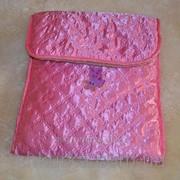 Детский конверт из овечьей шерсти Красный фото