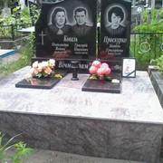 Изготовление надгробий и монтаж фото