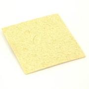 Губка для очистки паяльных жал 60х60 желтая фото