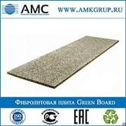 Фибролитовая плита Green Board GB1050 | 3000х600х12 фото