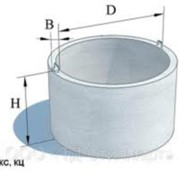 Кольца железобетонные (элементы колодцев) фото
