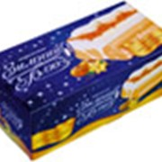 "Пломбир ваниль-крем-брюле с карамелью ""Зимний блюз"" фото"