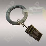 Кольцо бесшумное с крючком 16 диаметр фото
