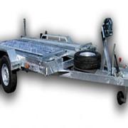 Прицеп эвакуатор, для транспортировки автомобиля и строительной техники, категории Е фото