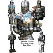 Рыцарь Железный Рыцарь для ресторана Производство рыцарей фото