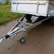 Прицеп BREN-325PH с тормозом наката (инерционным тормозом) для легкового автомобиля и микроавтобуса фото
